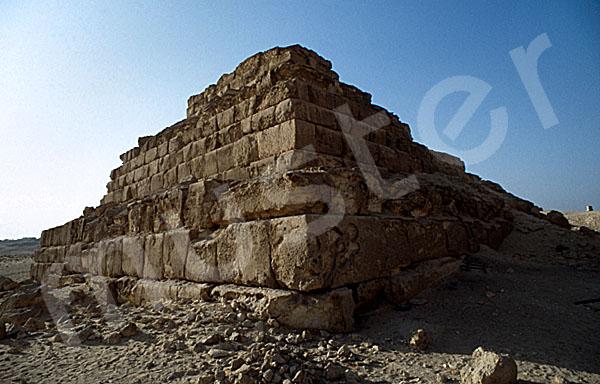 Mykerinos-Pyramide: Ecke, Bild-Nr. Grßansicht: 41a/6