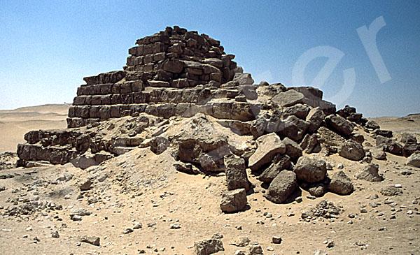 Mykerinos-Pyramide: Ecke, Bild-Nr. Grßansicht: 41a/8