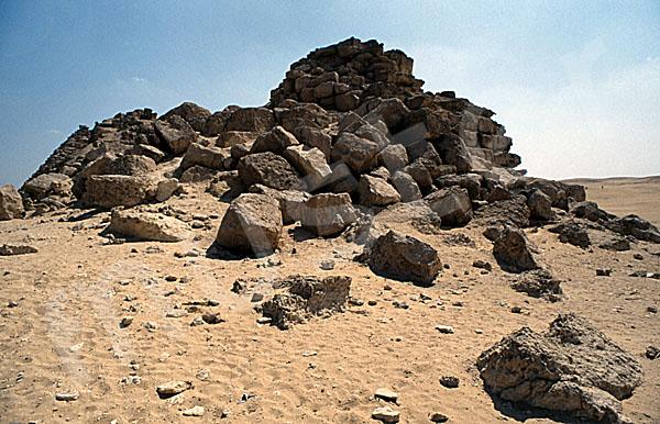 Mykerinos-Pyramide: Ecke, Bild-Nr. Grßansicht: 41a/9