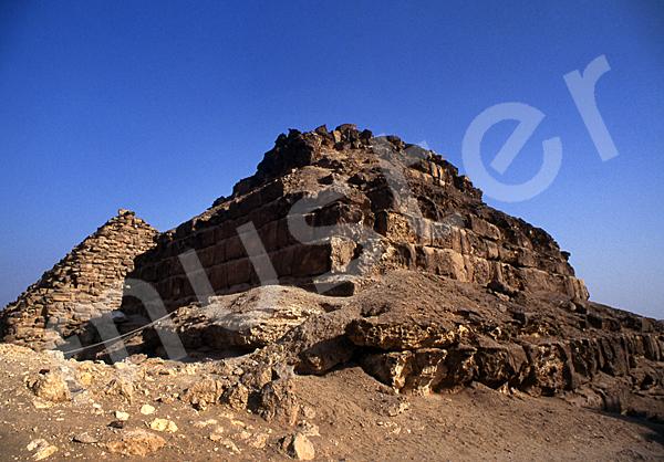 Mykerinos-Pyramide: Ecke, Bild-Nr. Grßansicht: 41b/8