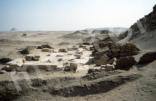 Neferirkare-Pyramide: Totentempel, Bild-Nr. Grßansicht: 140a/4