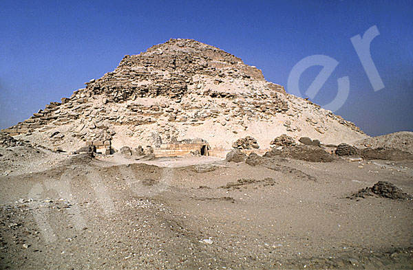 Neferirkare-Pyramide: Totentempel, Bild-Nr. Grßansicht: 140a/7