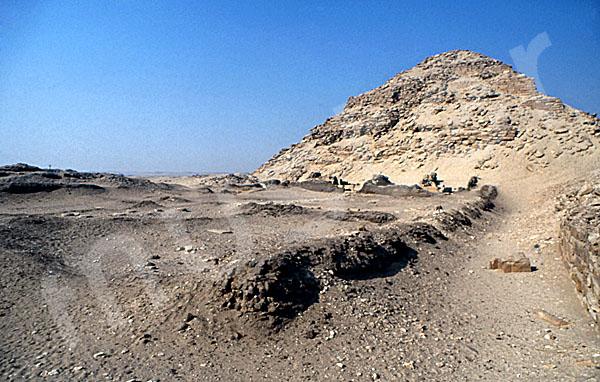 Neferirkare-Pyramide: Totentempel, Bild-Nr. Grßansicht: 140a/8