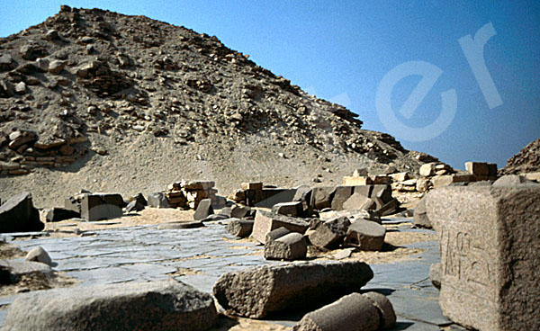 Niuserre-Pyramide: Totentempel, Bild-Nr. Grßansicht: 130a/2