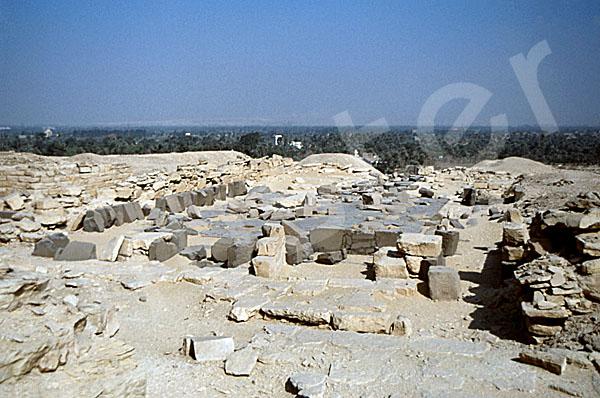 Niuserre-Pyramide: Totentempel, Bild-Nr. Grßansicht: 130a/3
