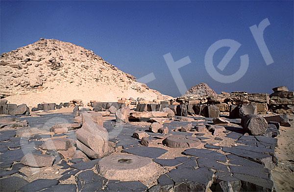 Niuserre-Pyramide: Totentempel, Bild-Nr. Grßansicht: 130a/5