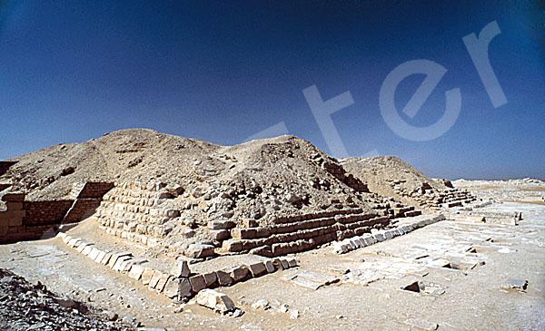 Pepi-I.-Pyramide: Ecke, Bild-Nr. Grßansicht: 230a/1