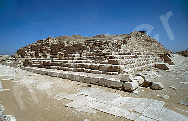 Pepi-I.-Pyramide: Ecke, Bild-Nr. Grßansicht: 230a/2