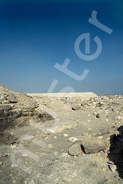 Radjedef-Pyramide: Aufweg, Bild-Nr. Grßansicht: 10a/29