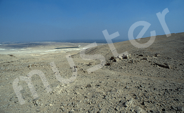 Radjedef-Pyramide: Aufweg, Bild-Nr. Grßansicht: 10a/43