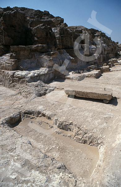Radjedef-Pyramide: Ecke, Bild-Nr. Grßansicht: 10b/4