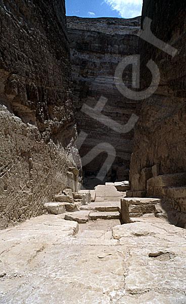 Radjedef-Pyramide: Gang, Bild-Nr. Grßansicht: 15a/14