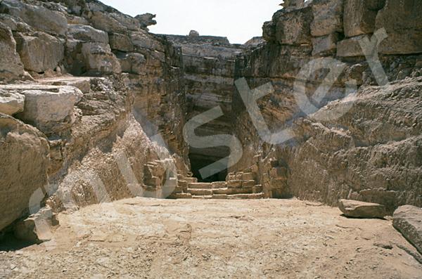 Radjedef-Pyramide: Gang, Bild-Nr. Grßansicht: 15a/48