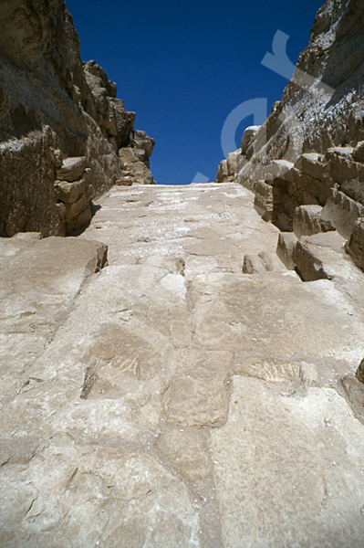 Radjedef-Pyramide: Gang, Bild-Nr. Grßansicht: 15a/49