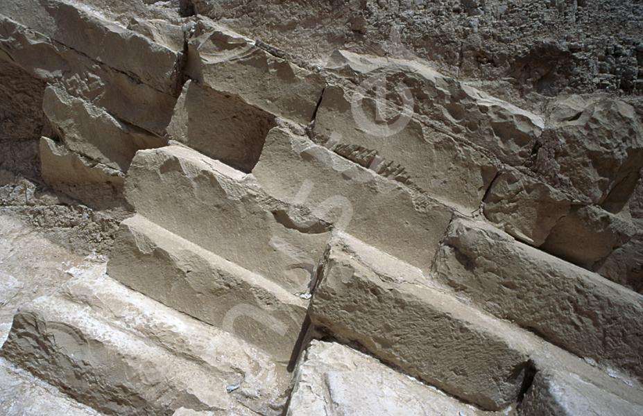 Radjedef-Pyramide: Gang, Bild-Nr. Grßansicht: 15a/7