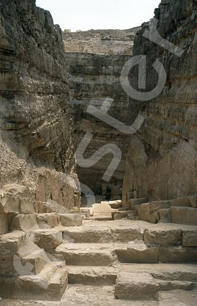 Radjedef-Pyramide: Gang, Bild-Nr. Grßansicht: 15a/9