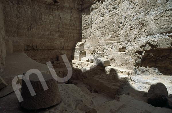Radjedef-Pyramide: Haupt- / Grabkammer, Bild-Nr. Grßansicht: 15a/36