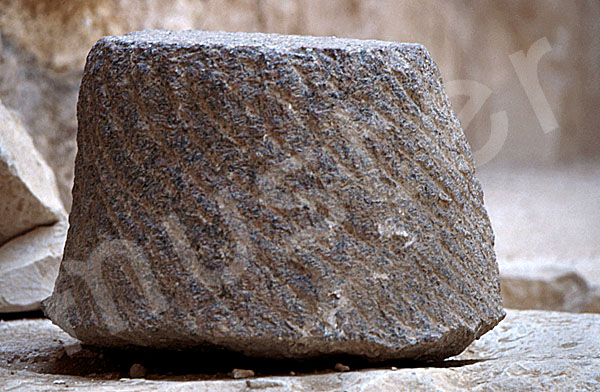 Radjedef-Pyramide: Haupt- / Grabkammer, Bild-Nr. Grßansicht: 15a/37