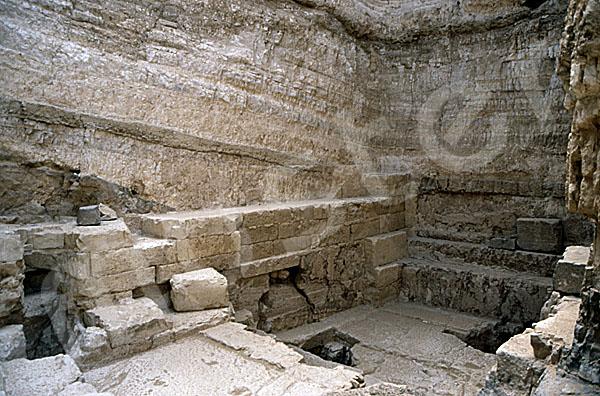Radjedef-Pyramide: Haupt- / Grabkammer, Bild-Nr. Grßansicht: 15a/39