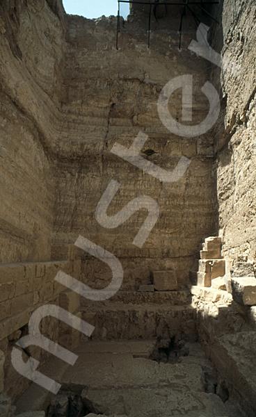 Radjedef-Pyramide: Haupt- / Grabkammer, Bild-Nr. Grßansicht: 15a/42