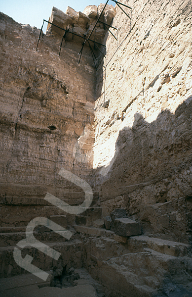 Radjedef-Pyramide: Haupt- / Grabkammer, Bild-Nr. Grßansicht: 15b/5