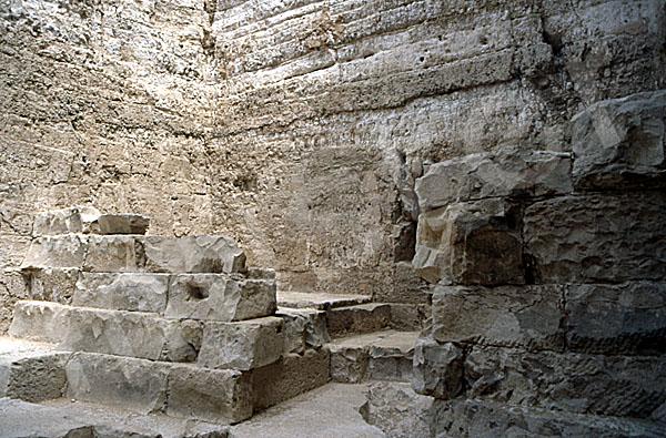 Radjedef-Pyramide: Nische, Bild-Nr. Grßansicht: 15a/33