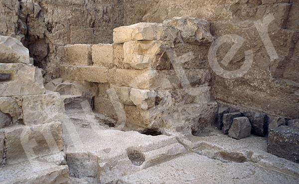 Radjedef-Pyramide: Nische, Bild-Nr. Grßansicht: 15a/45