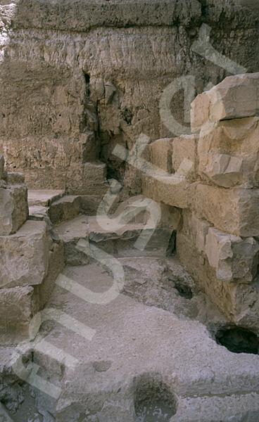 Radjedef-Pyramide: Nische, Bild-Nr. Grßansicht: 15a/46