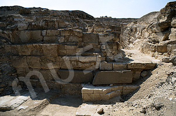 Radjedef-Pyramide: Seite, Bild-Nr. Grßansicht: 10a/13