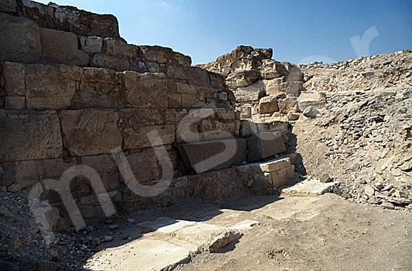 Radjedef-Pyramide: Seite, Bild-Nr. Grßansicht: 10a/15