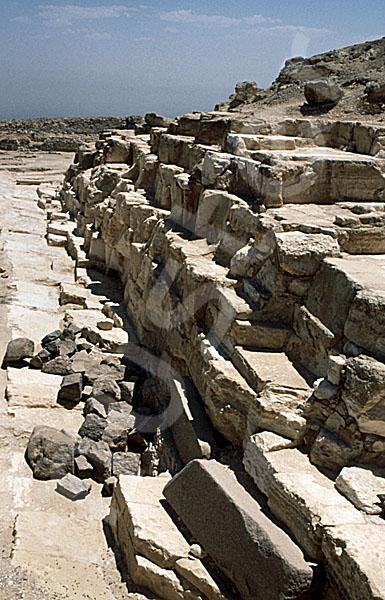 Radjedef-Pyramide: Seite, Bild-Nr. Grßansicht: 10a/17