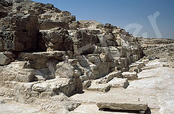 Radjedef-Pyramide: Seite, Bild-Nr. Grßansicht: 10a/3