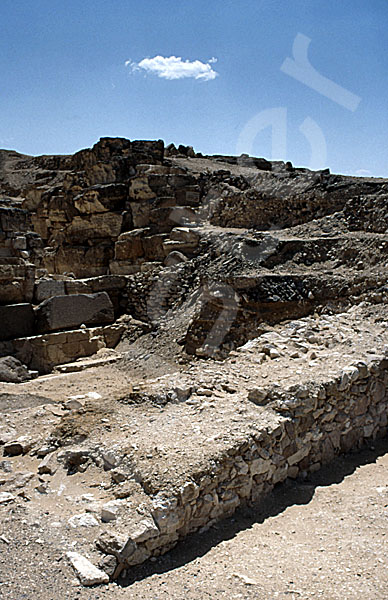 Radjedef-Pyramide: Umfassungs- / Temenosmauer, Bild-Nr. Grßansicht: 10a/24