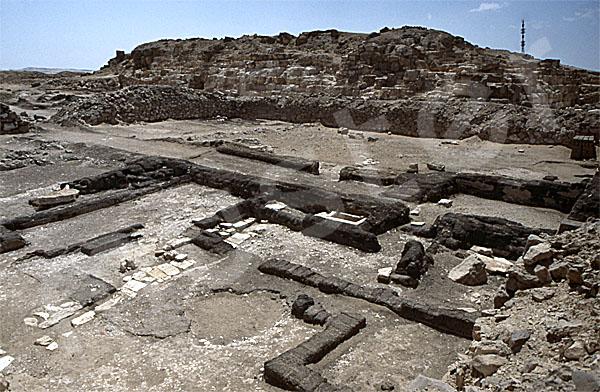 Radjedef-Pyramide: Totentempel, Bild-Nr. Grßansicht: 10a/27