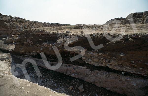 Radjedef-Pyramide: Totentempel, Bild-Nr. Grßansicht: 10a/42