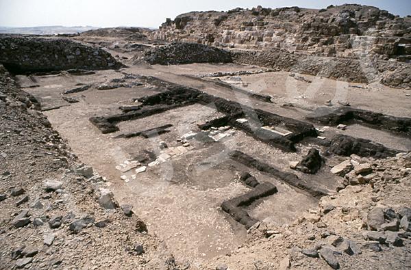 Radjedef-Pyramide: Totentempel, Bild-Nr. Grßansicht: 10b/17