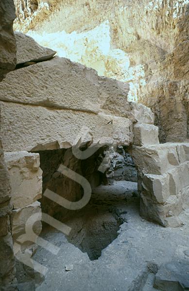 Radjedef-Pyramide: Tunnel / Tunnenlsystem, Bild-Nr. Grßansicht: 15b/4