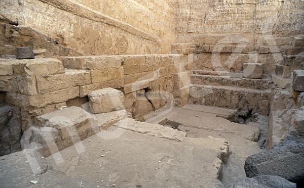 Radjedef-Pyramide: Vor- / Königinnenkammer, Bild-Nr. Grßansicht: 15b/9