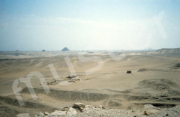 Raneferef-Pyramide: Ecke, Bild-Nr. Grßansicht: 160a/1