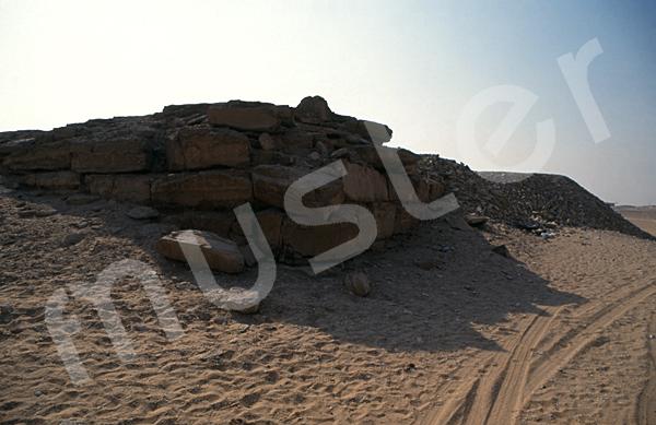 Raneferef-Pyramide: Totentempel, Bild-Nr. Grßansicht: 160a/5