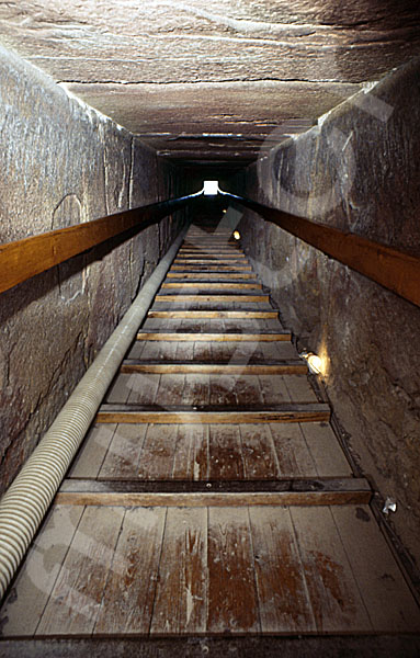 Rote Pyramide: Gang, Bild-Nr. Grßansicht: 345a/46