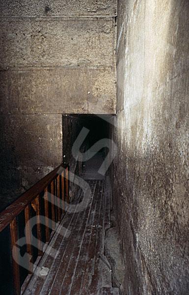Rote Pyramide: Haupt- / Grabkammer, Bild-Nr. Grßansicht: 345b/35
