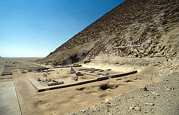 Rote Pyramide: Totentempel, Bild-Nr. Grßansicht: 340a/26