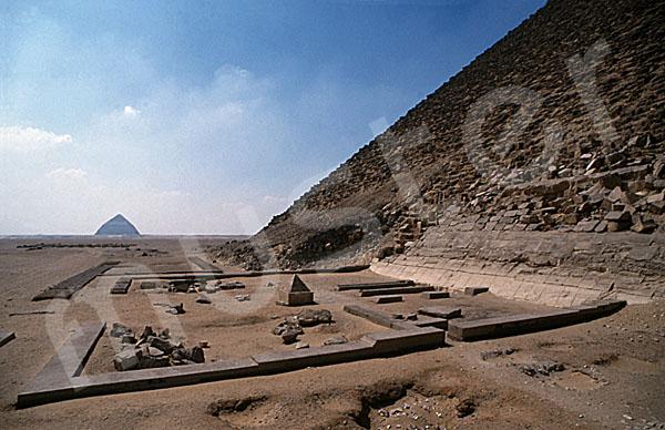 Rote Pyramide: Totentempel, Bild-Nr. Grßansicht: 340a/44