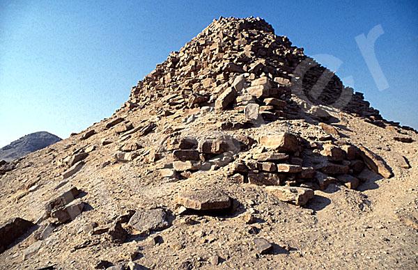 Sahure-Pyramide: Ecke, Bild-Nr. Grßansicht: 120b/7