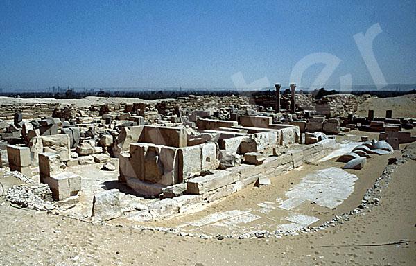 Sahure-Pyramide: Totentempel, Bild-Nr. Grßansicht: 120a/15
