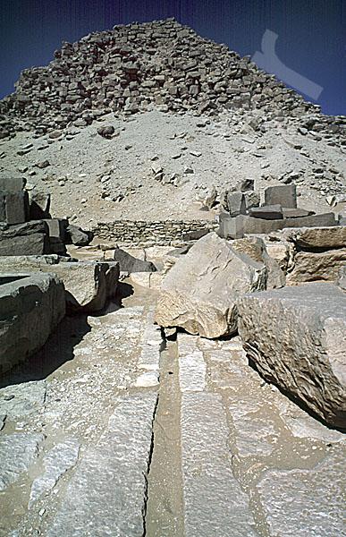 Sahure-Pyramide: Totentempel, Bild-Nr. Grßansicht: 120a/22