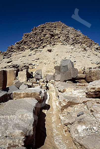 Sahure-Pyramide: Totentempel, Bild-Nr. Grßansicht: 120a/25