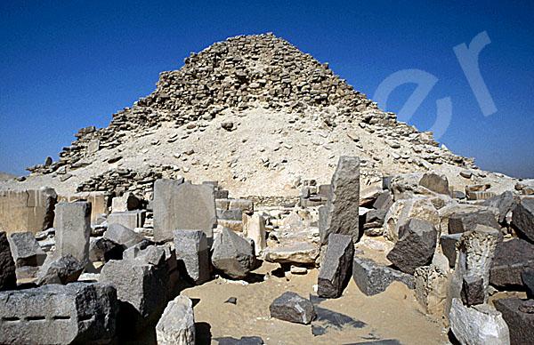Sahure-Pyramide: Totentempel, Bild-Nr. Grßansicht: 120a/27