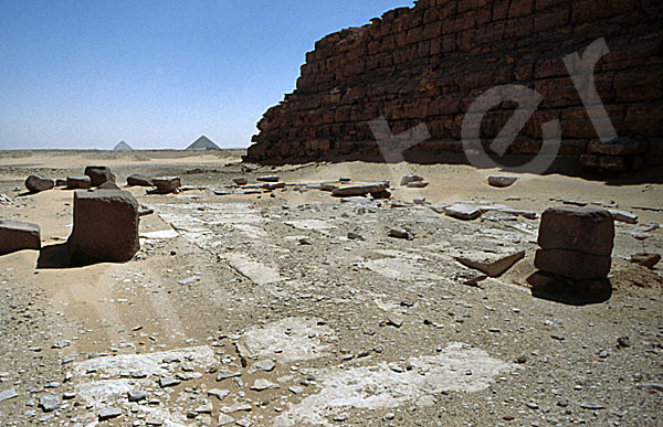 Schepseskaf-Mastaba: Totentempel, Bild-Nr. Grßansicht: 280a/21